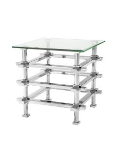 Madagascar Silver Side Table