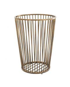 Baleana Brass Towel Basket