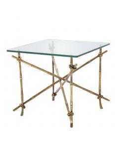 Kahala Brass Side Table