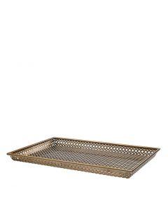 Sirenuse Large Brass Tray