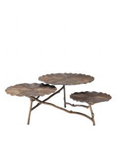 Colibri Antique Brass Coffee Table