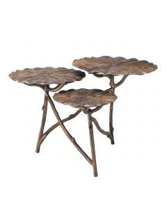 Colibri Antique Brass Side Table
