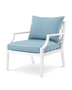 Bella Vista White Outdoor Armchair