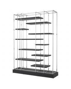Ward Charcoal Oak Grey Cabinet