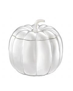 Pumpkin Silver Plated Box