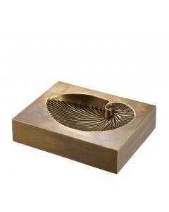 Conchiglia Vintage Brass Object