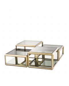 Callum Brass Coffee Table