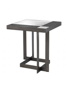 Hermoza Mocha Oak Side Table