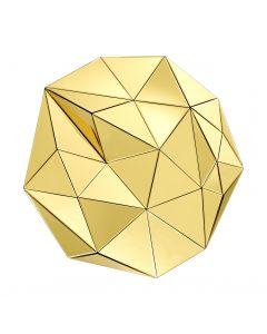 Topanga Gold Mirror