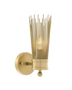 Romeo Single Brass Wall Lamp