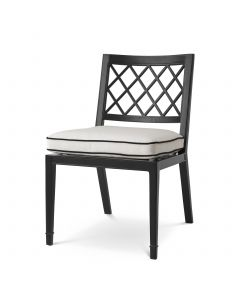 Paladium Black Outdoor Dining Chair