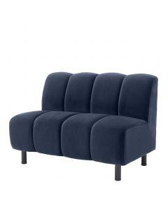 Hillman Savona Midnight Blue Modular Sofa - Straight