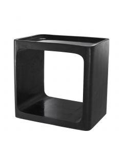 Vesuvio Black Marble Side Table