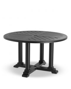 Bell Rive Black Outdoor Small Round Dining Table