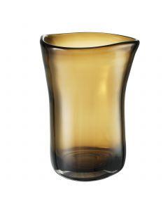 Corum Large Brown Glass Vase