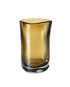 Corum Medium Brown Glass Vase