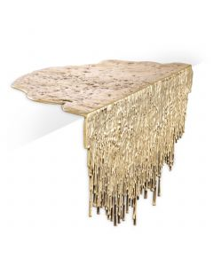 Grove Polished Brass Table Object table
