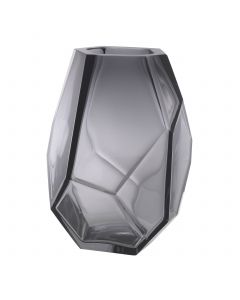 Martina Grey Glass Vase