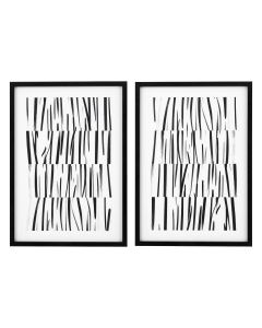 Melotti Study of Cloth Drawing Prints - Set of 2