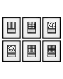 Ernest Rigo Prints - Set of 6