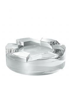 Avedon Crystal Glass Bowl