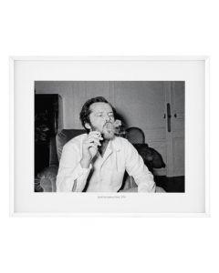 Smoking Nicholson Print
