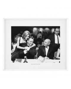 Sinatra's & Yul Brynner Print
