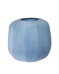 Avance Small Blue Vase