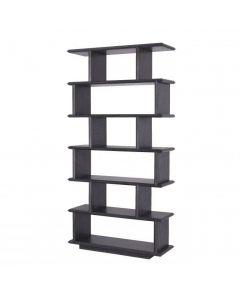 Garcia Charcoal Grey Oak Veneer Cabinet