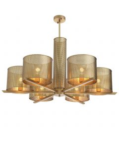 Morrison Antique Brass Chandelier