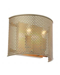 Morrison Small Antique Brass Wall Lamp