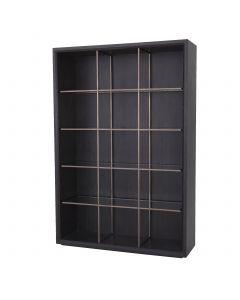 Hennessey Charcoal Grey Oak Cabinet