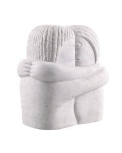 Love Couple White Marble Object
