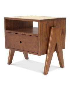 Latour Bedside Table Classic Brown