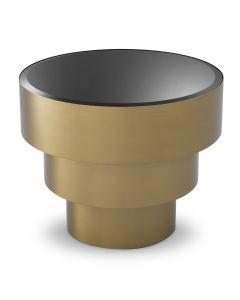 Sinclair Brushed Brass Side Table