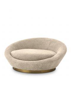 Duardo Canberra Sand Sofa