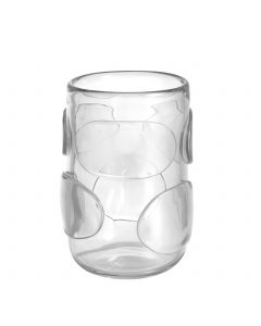 Valerio Small Clear Glass Vase