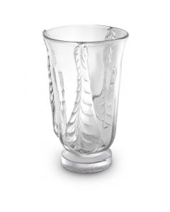 Sergio Large Clear Glass Vase