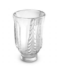 Sergio Small Clear Glass Vase