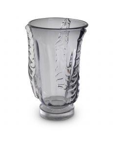 Sergio Large Grey Glass Vase