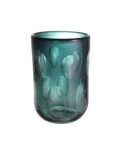 Nino Large Green Glass Vase