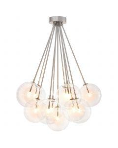 Molecule Nickel Ceiling Lamp