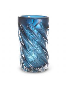 Angelito Large Blue Glass Vase