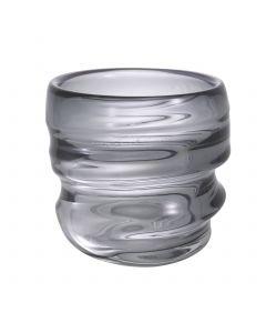 Xalvador Small Grey Glass Vase