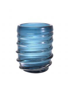 Xalvador Large Blue Glass Vase
