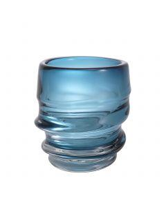 Xalvador Small Blue Glass Vase