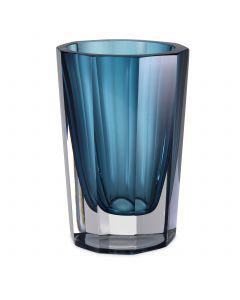 Chavez Large Blue Glass Vase