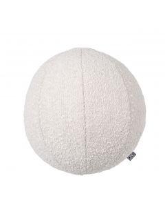 Palla Small Boucle Cream Pillow