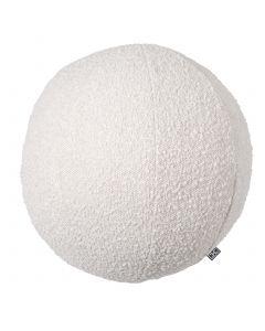Palla Large Boucle Cream Pillow