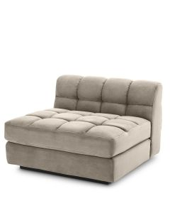 Dean Savona Greige Middle Sofa